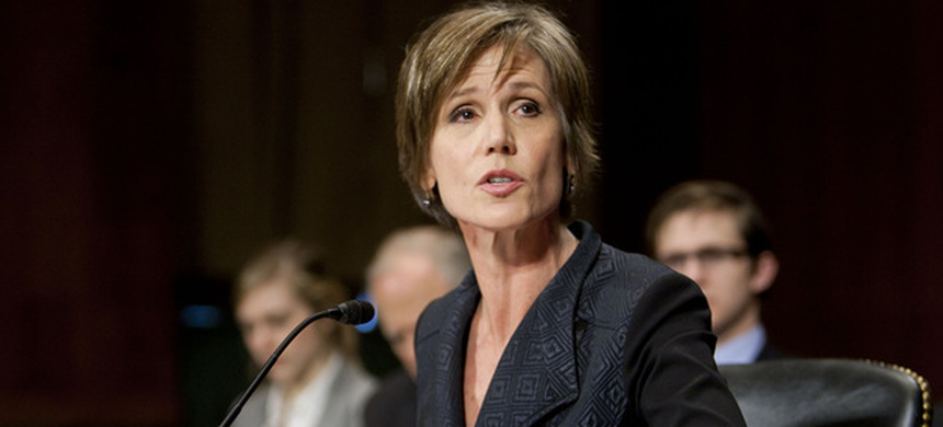 Sally Yates. (photo: Carolyn Kaster/AP)