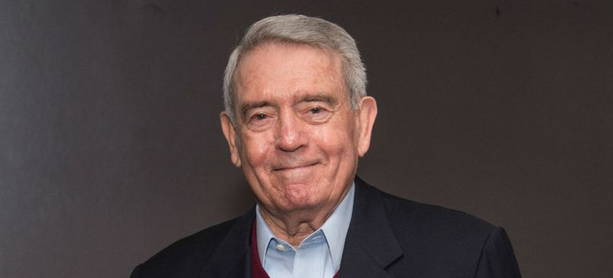 Journalist Dan Rather attends the 'Truth' New York special screening at the Lincoln Plaza Cinema on October 23, 2015 in New York City. (photo: Mark Sagilocco/Getty)