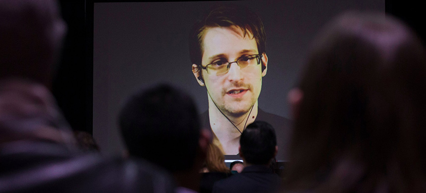 Former U.S. National Security Agency contractor Edward Snowden. (photo: Mark Blinch/Reuters)