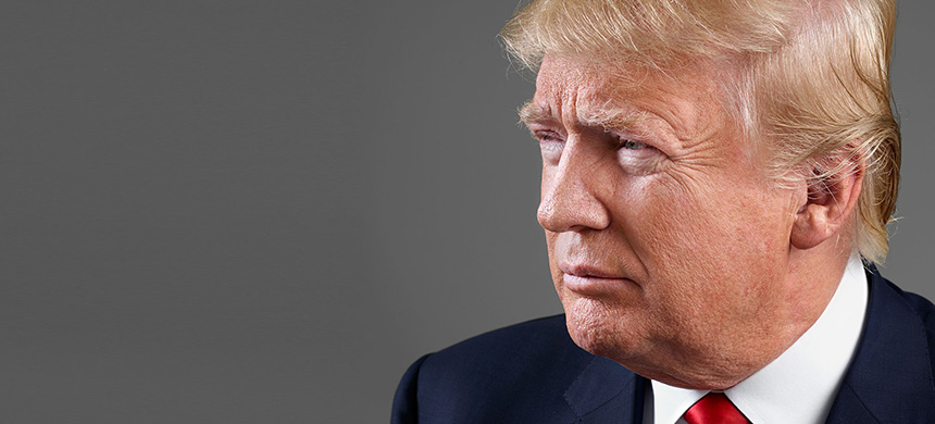 Donald Trump. (photo: Martin Schoeller/TIME)
