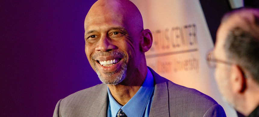 Kareem Abdul-Jabbar. (photo: Unknown)