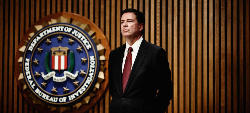 The director of the Federal Bureau of Investigation, James Comey. (photo: Melissa Golden/Redux)