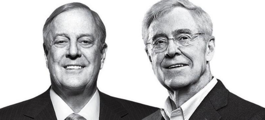 The Koch brothers. (photo: The Young Turks)