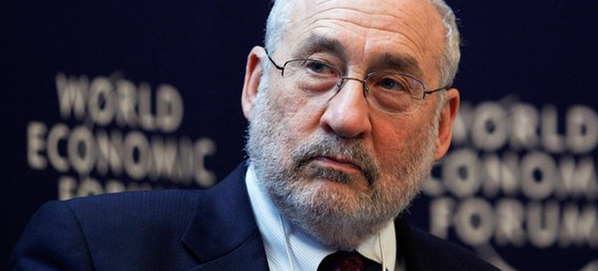Economist Joseph Stiglitz. (photo: Reuters)