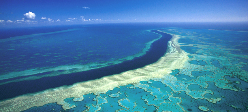Great Barrier Reef. (photo: National Geographic)