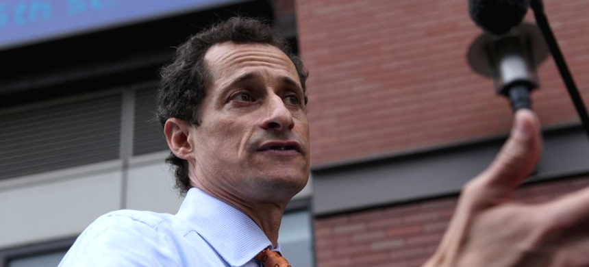 Anthony Weiner. (photo: WNYC)