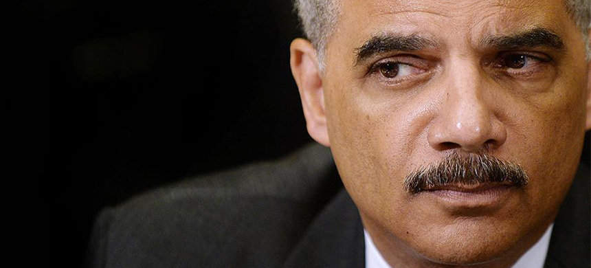 The National Democratic Redistricting Committee is headed by former Attorney General Eric Holder. (photo: Getty Images)