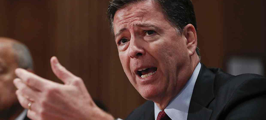 James Comey. (photo: Pablo Martinez Monsivais/AP)