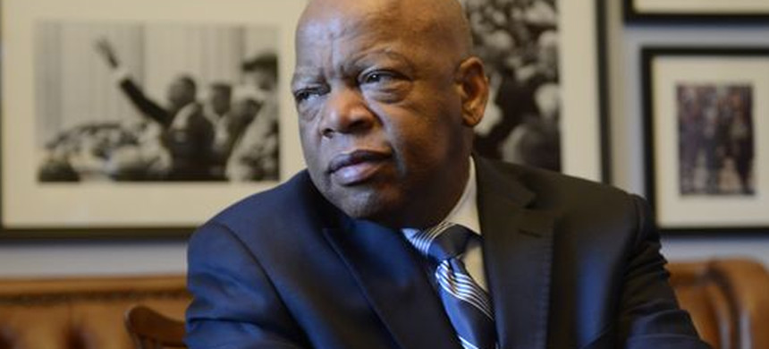 Congressman and civil rights icon John Lewis. (photo: H. Darr Beiser/USA TODAY)