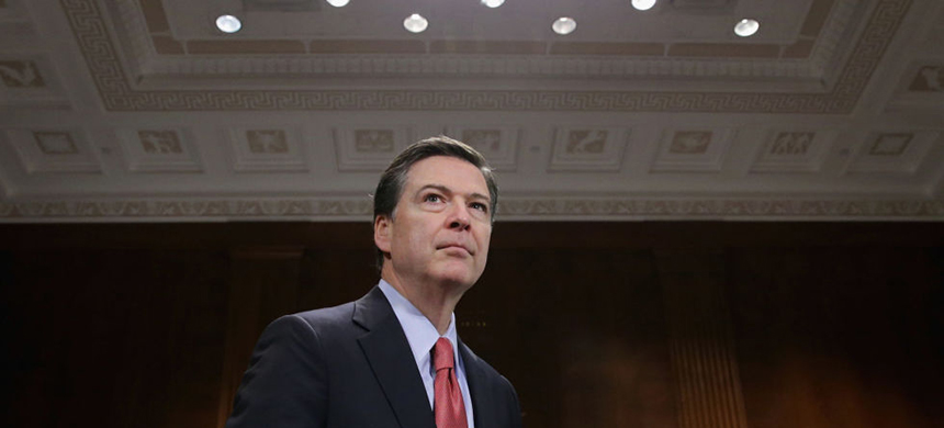 James Comey. (photo: Chip Somodevilla/Getty Images)