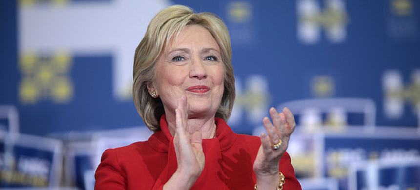 Secretary Hillary Clinton. (photo: AP)
