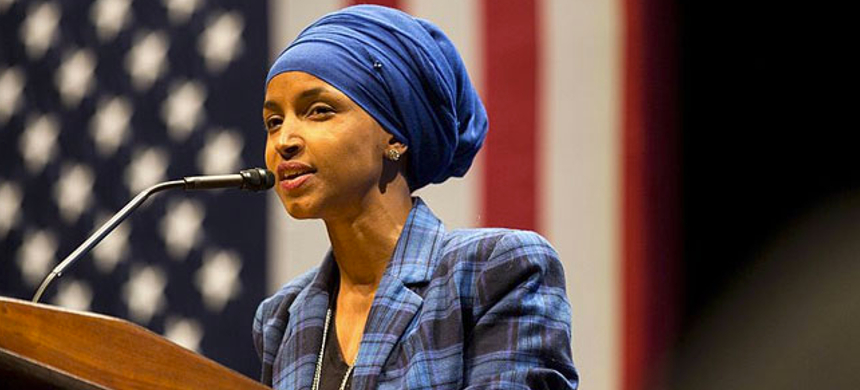 Ilhan Omar. (photo: Lorie Shaull/Wikimedia Commons)