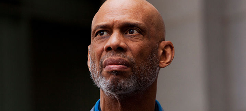 Kareem Abdul-Jabbar. (photo: Getty Images)