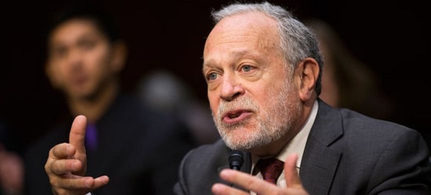 Robert Reich speaking to Occupy San Francisco in 2011. (photo: Jeff Chiu/AP)