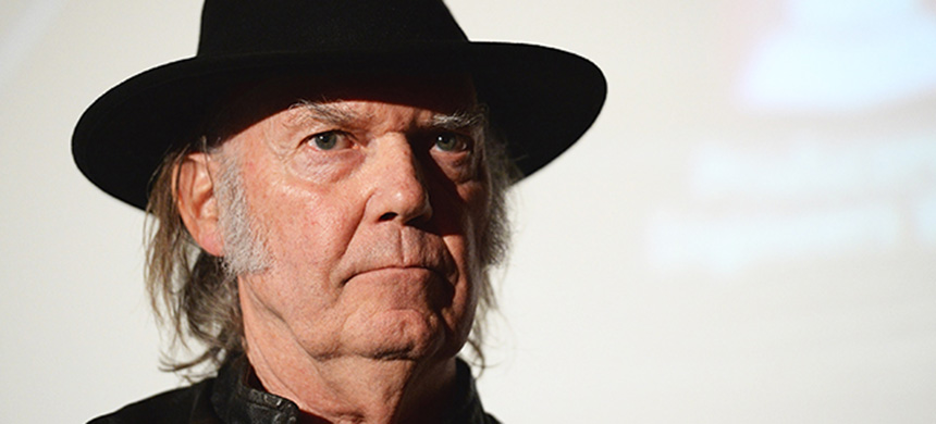 Neil Young. (photo: Michael Kovac/WireImage)