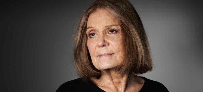 Gloria Steinem: 'I am using [my feminist torch] to light other people's torches - and I'm finding they don't need me.' (photo: Richard Saker/Observer)