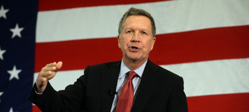 John Kasich. (photo: Darren McCollester/Getty Images)
