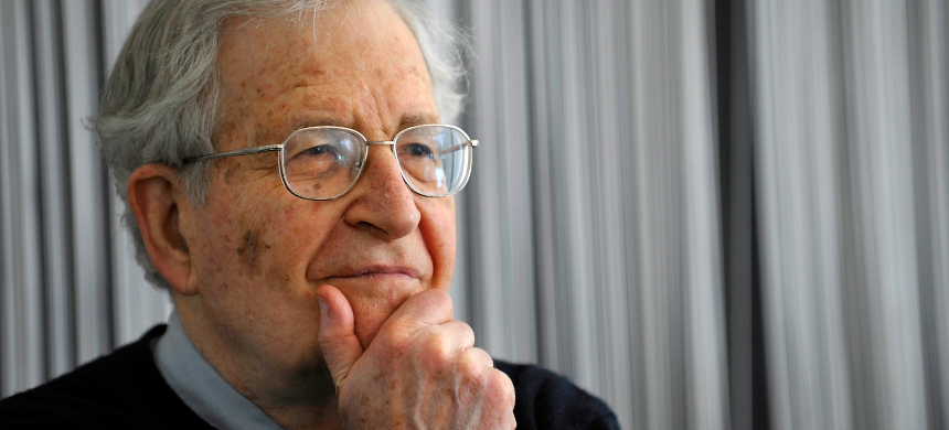 Professor Noam Chomsky. (photo: AFP)