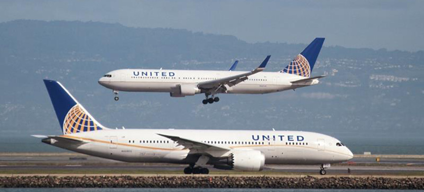 The United Airlines Flight 3411 was heading to Louisville, Kentucky. (photo: Reuters)