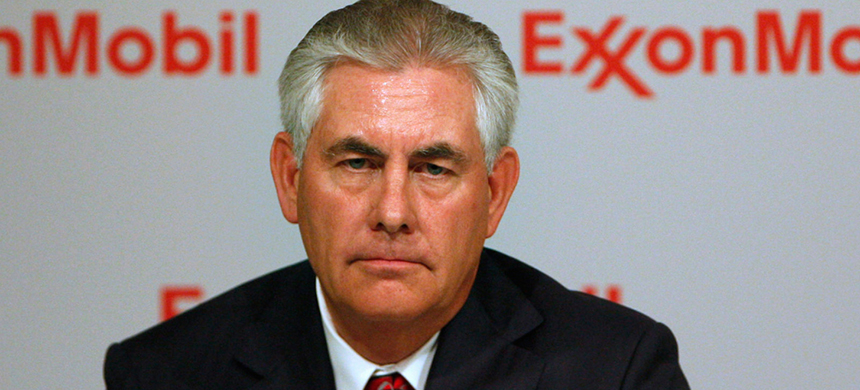 Rex Tillerson. (photo: Jessica Rinaldi/Reuters)