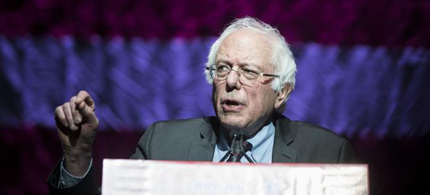 Sen. Bernie Sanders. (photo: AFP)