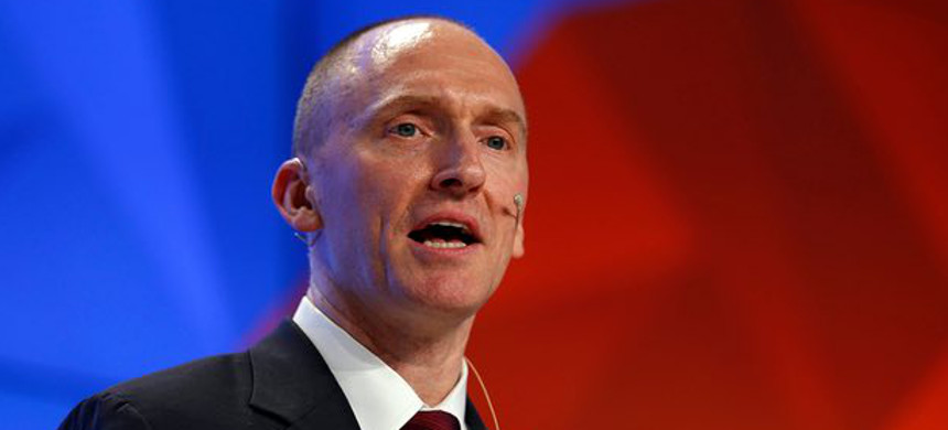 Carter Page, relatively obscure in U.S. foreign policy circles, was among the most forthrightly pro-Russia advisers to sign on with Trump. (photo: Yuri Kochetkov/EPA)