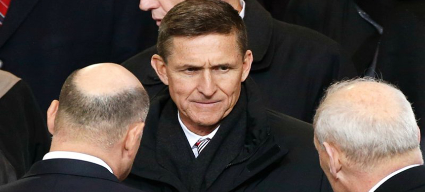 Mike Flynn. (photo: Lucas Jackson/Reuters)