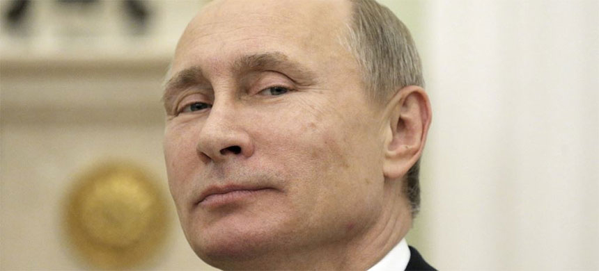 President of the Russian Federation, Vladimir Putin. (photo: Reuters)