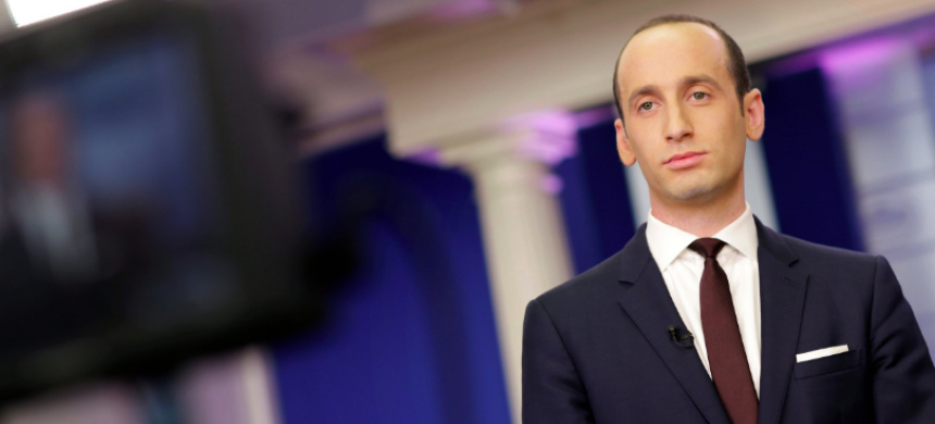 Stephen Miller. (photo: Joshua Roberts/Reuters)