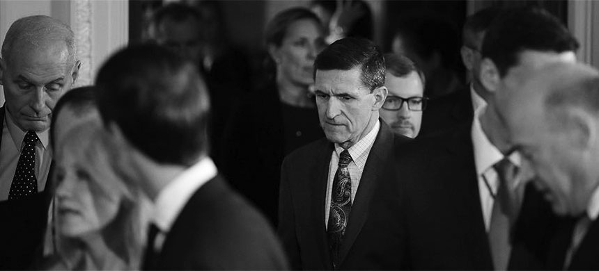 Fomer U.S. Army General and National Security Advisor Michael T. Flynn. (photo: Carlos Barria/Reuters)