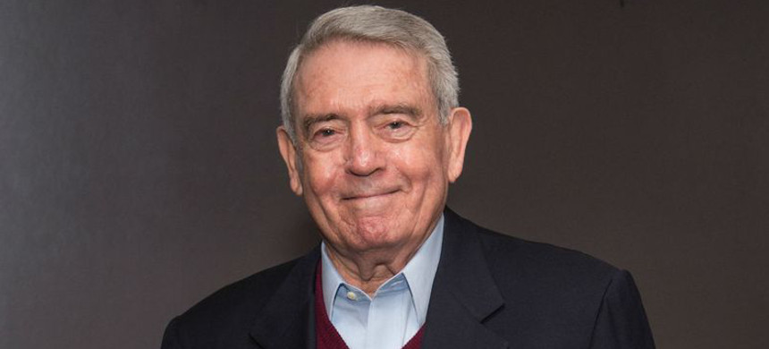 Dan Rather. (photo: WNYC)