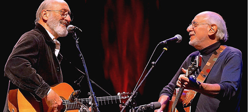Peter Yarrow and Noel Paul Stookey of Peter, Paul and Mary. (photo: Peter Yarrow)