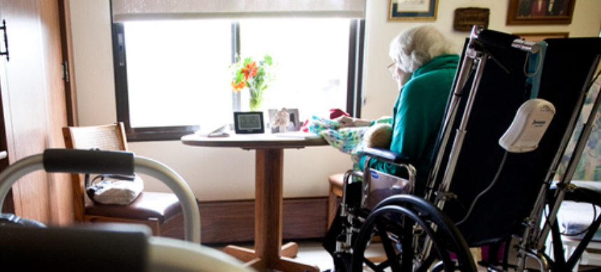 A woman in a nursing home. (photo: Ridenour Law)