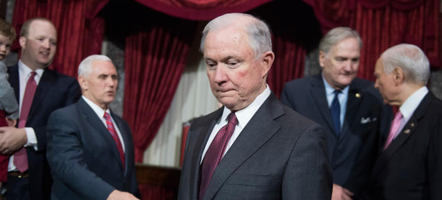 Attorney General Jeff Sessions. (photo: Tom Williams/ CQ Roll Call)