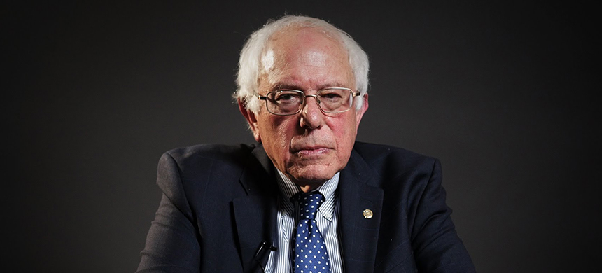 Senator Bernie Sanders. (photo: Vox/YouTube)