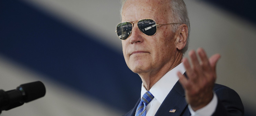 Former vice president Joe Biden. (photo: Jessica Hill/AP)