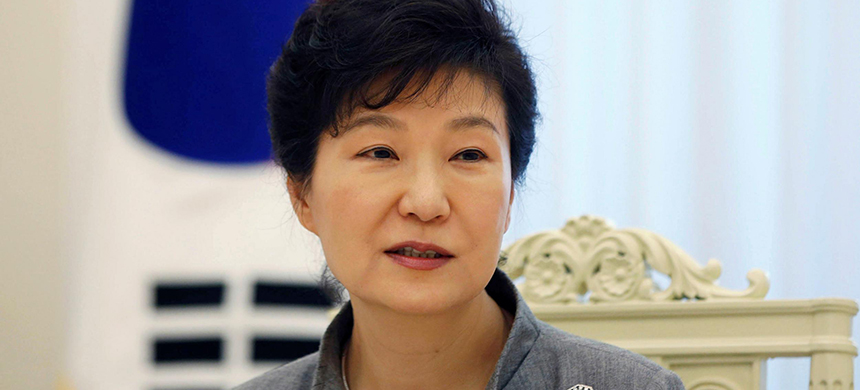 Park Geun-hye. (photo: The Independent)