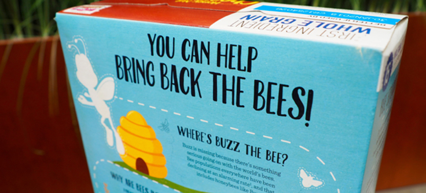 Cheerios' 'Bring Back the Bees' campaign. (photo: General Mills/Twitter)