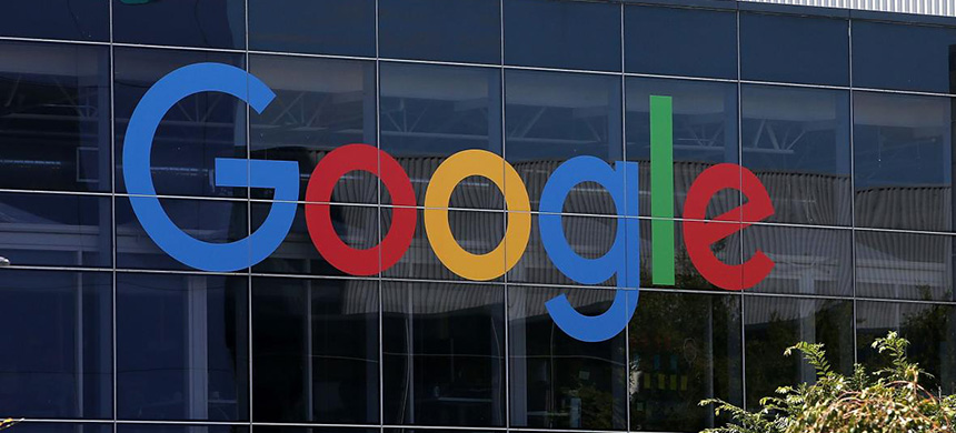 The Google logo is displayed at the Google headquarters on September 2, 2015 in Mountain View, California. (photo: Justin Sullivan/Getty Images)