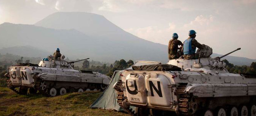 UN Peacekeepers in the Democratic Republic of the Congo. (photo: Aaron Ross/Reuters)