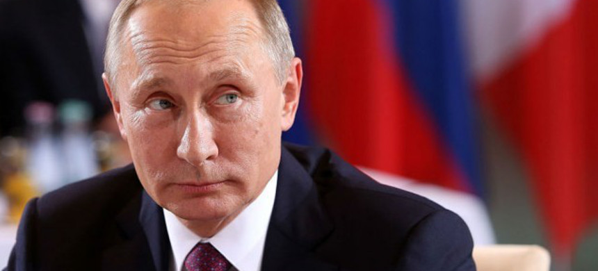 Russian President Vladimir Putin. (photo: Getty)