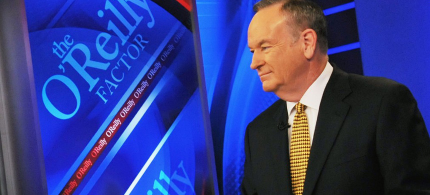 Bill O'Reilly. (photo: Fox News)