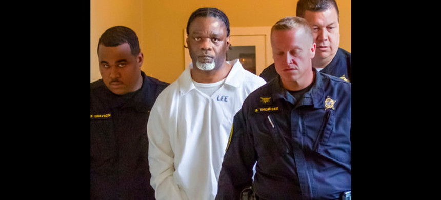 Ledell Lee in Pulaski County Circuit Court in Little Rock, Arkansas, on Tuesday. (photo: Benjamin Krain/AP)