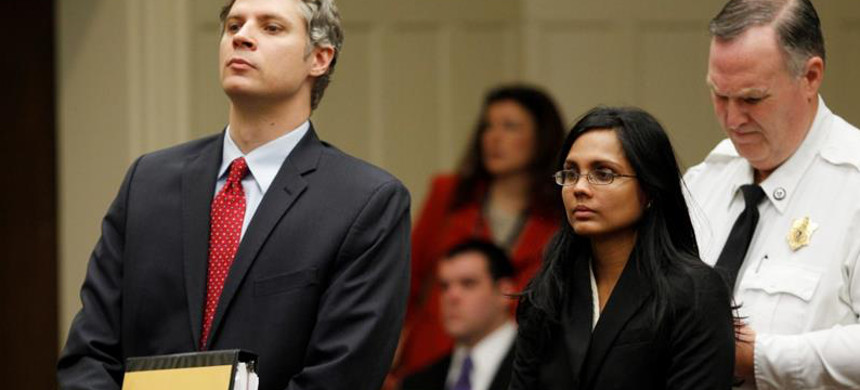 Former police chemist Annie Dookhan falsified test results for nearly 10 years. (photo: Jessica Rinaldi/Reuters)