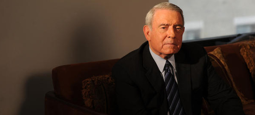 Dan Rather in his office in Manhattan in 2009. (photo: Jennifer S. Altman/NYT)