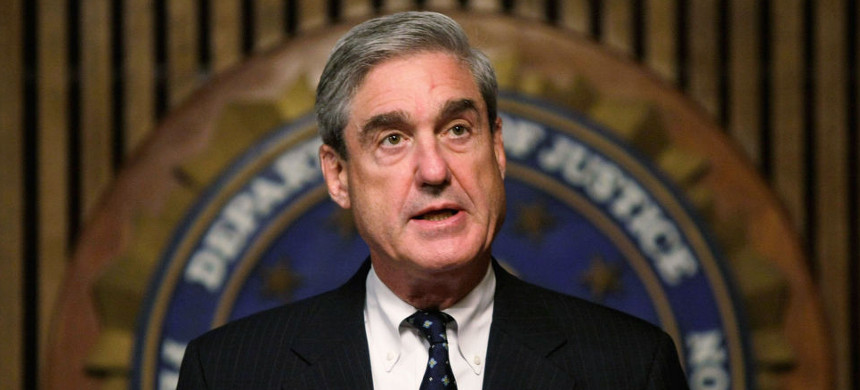 Special counsel Robert S. Mueller III, who was appointed to investigate Trump's connection to Russia. (photo: Getty)