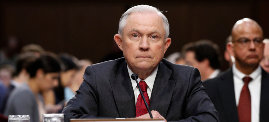 Attorney General Jeff Sessions. (photo: Getty)