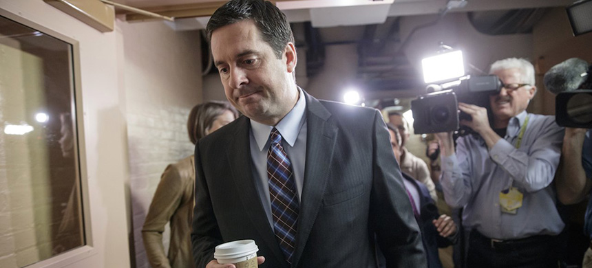 Representative Devin Nunes. (photo: J. Scott Applewhite/AP)