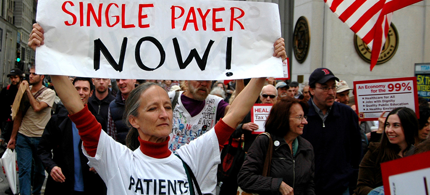 Single Payer Now! (photo: Michael Fleshman)