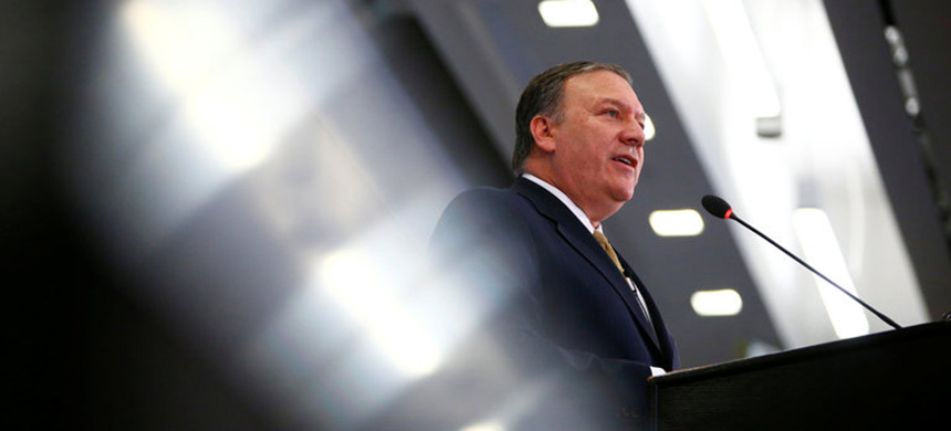 Mike Pompeo. (photo: Eric Thayer/Reuters)